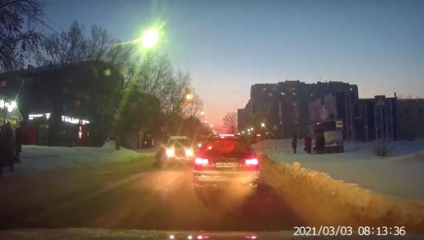 ДТП с пешеходом 3 марта в Барнауле.