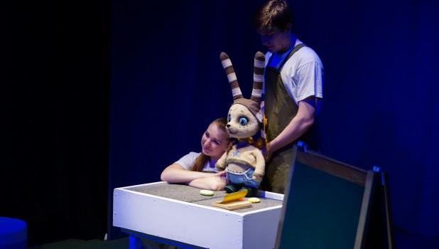 В театре кукол в Барнауле прошла творческая лаборатория спектаклей для самых маленьких