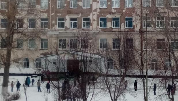Лицей №6 в Рубцовске.