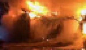 Пожар в начальной школе в Республике Алтай.