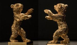 Золотая статуэтка берлинского кинофестиваля.