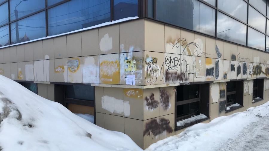Март 2021 года. Здание бизнес-центра на ул. Пролетарской, 89.