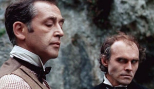 Профессор Мориарти и Шерлок Холмс.
