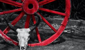 Красное колесо.
