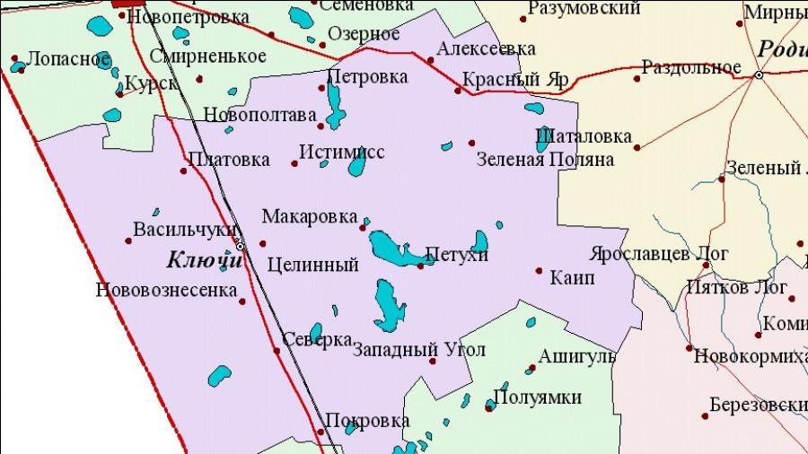 Ключевский район.