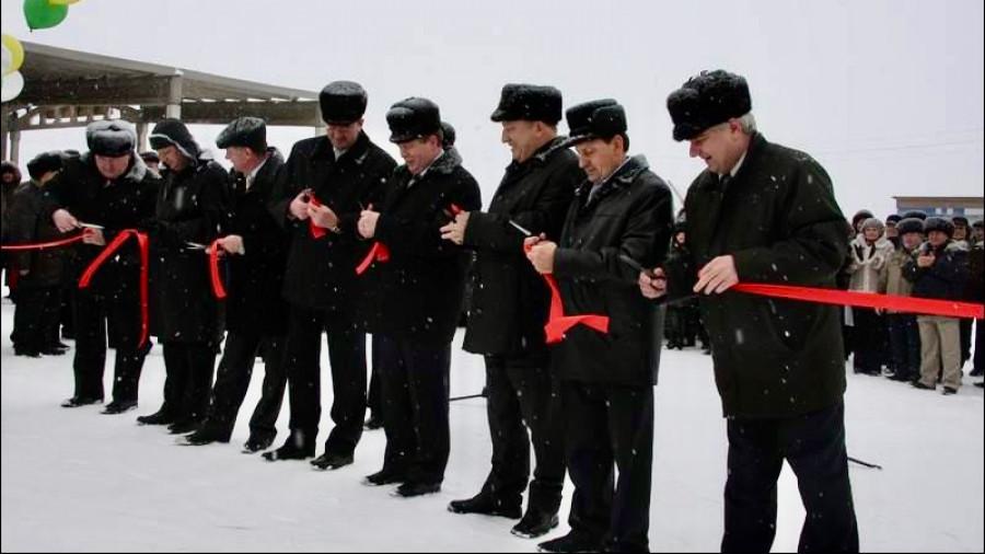 """2009 год. Открытие первой очереди """"Западного"""", Ключевской район."""