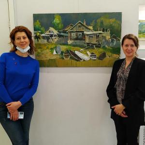 Выставка Владимира Кикотя