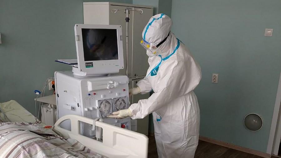 Аппарат для гемодиализа.