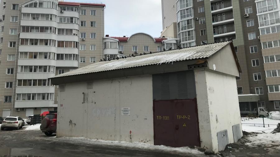 Трансформаторная будка - электросетевое имущество Барнаула.