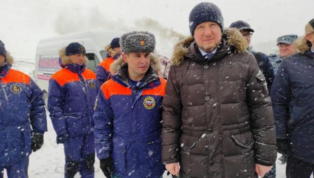 Виктор Томенко принял участие в комплексной тренировке по предупреждению и ликвидации последствий паводка.