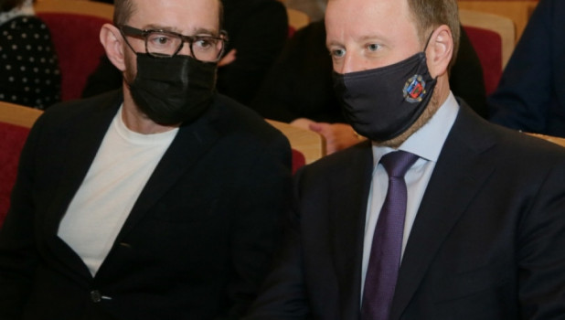 Константин Хабенский и Виктор Томенко