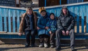 Анатолий Чубайс с семьей отдыхает в Горном Алтае. Март 2021 года