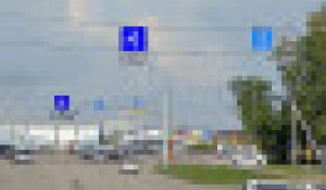 Организация движения на ул. Солнечная Поляна в Барнауле.
