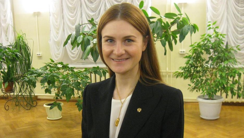 Мария Бутина.