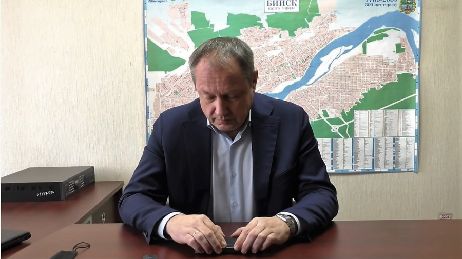 Глава Бийска Александр Студеникин.