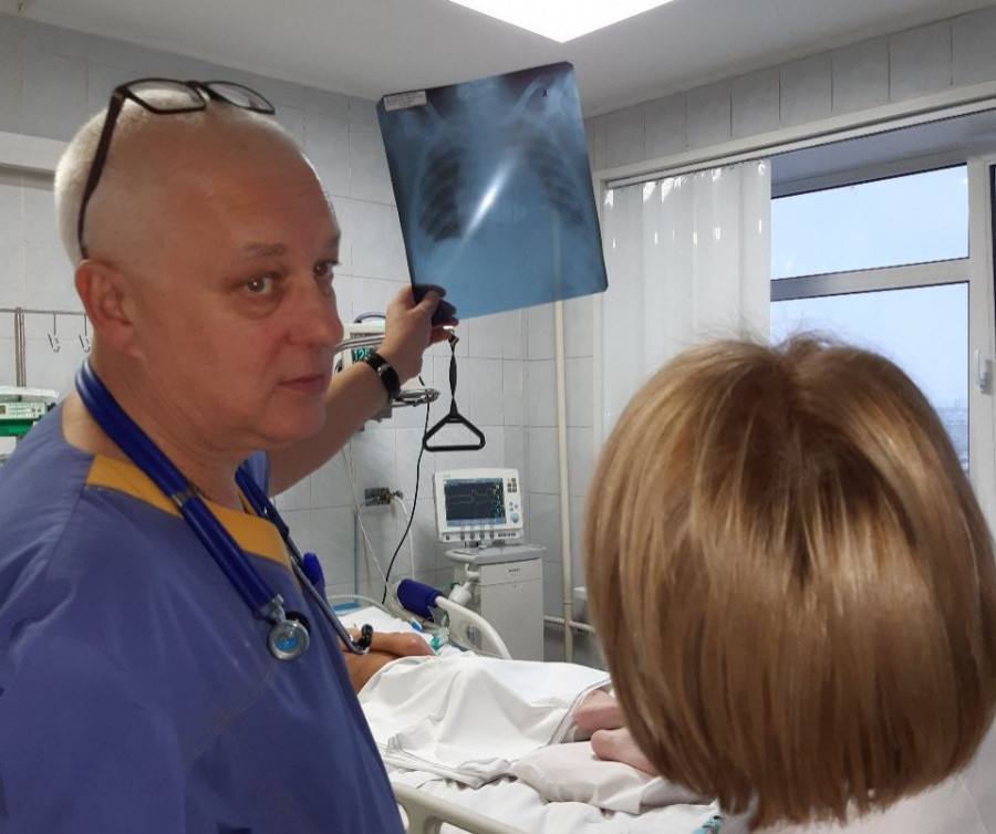 Алексей Завьялов, заведующий отделением анестезиологии и реаниматологии.