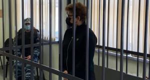 Стелла Штань в суде.