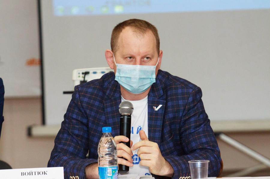Круглый стол ОНФ. Сергей Войтюк.