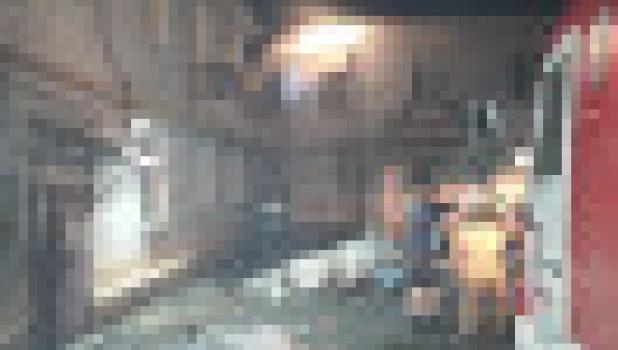 Перекрытие рухнуло в жилом доме. Барнаул.