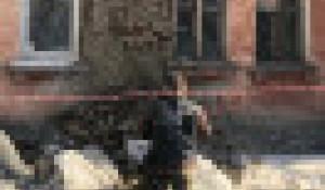 Аварийный дом на ул. Советской Армии, 54.