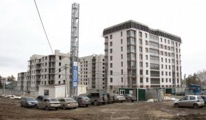 """В ЖК """"Парковый"""" началось строительство."""