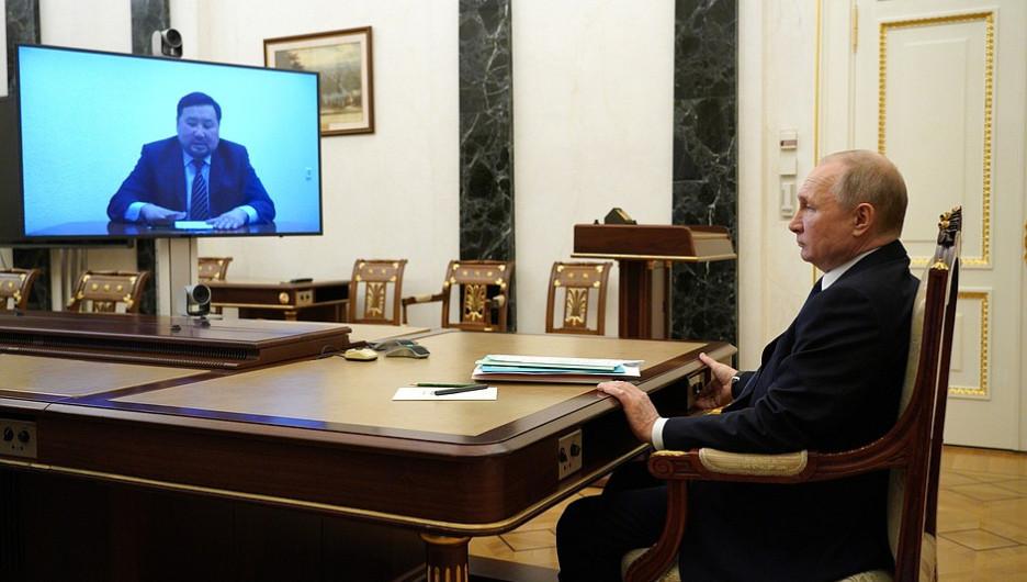 """Новый глава Тувы назвал Путину одну из главных проблем - """"ожидания населения"""""""