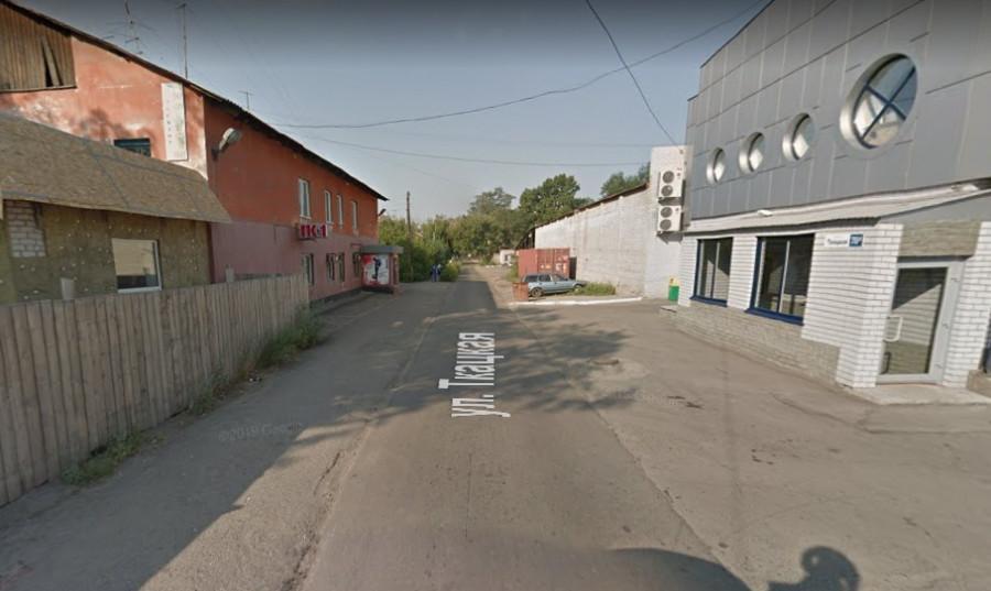 Вид на ул. Ткацкую со стороны пр. Калинина.