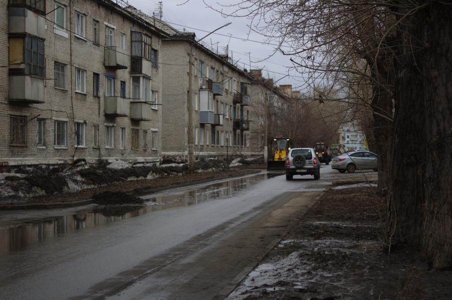 Проверка автодорог в Новоалтайске.
