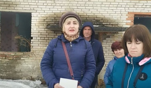Жители поселка Боровой записали обращение к президенту России Владимиру Путину.