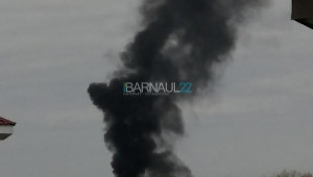 Пожар в селе Лебежье.