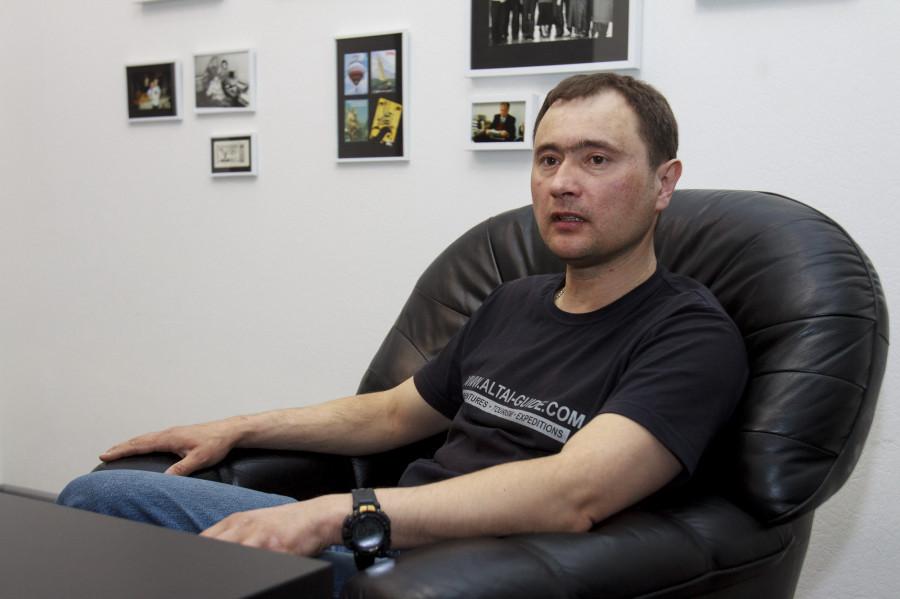 Дмитрий Юрочкин, путешественник.