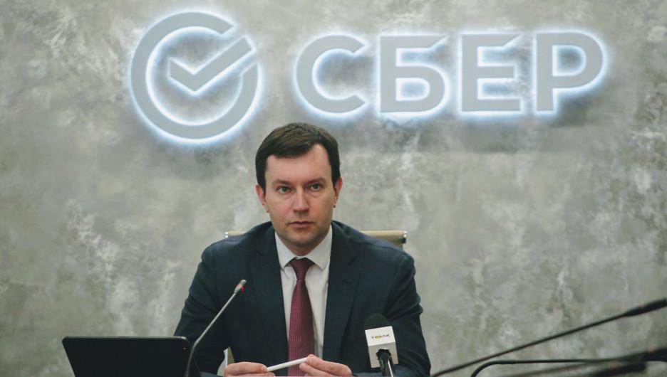 Антон Милютин, управляющий Алтайским отделением ПАО Сбербанк.