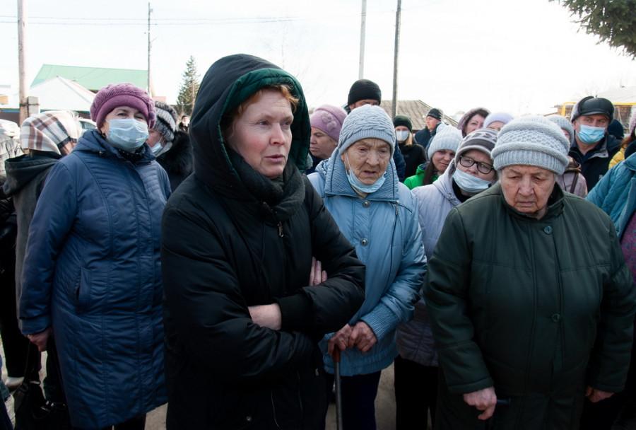 """Общее собрание жильцов поселка """"Северо-Западный""""."""