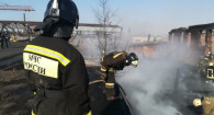 Пожар на ул. Кулагина.