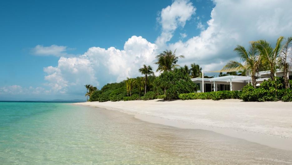 Banwa Private Island. Филиппинские острова.