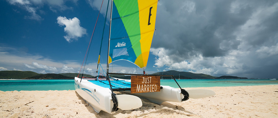 Necker Island. Британские Виргинские острова. Свадьба.