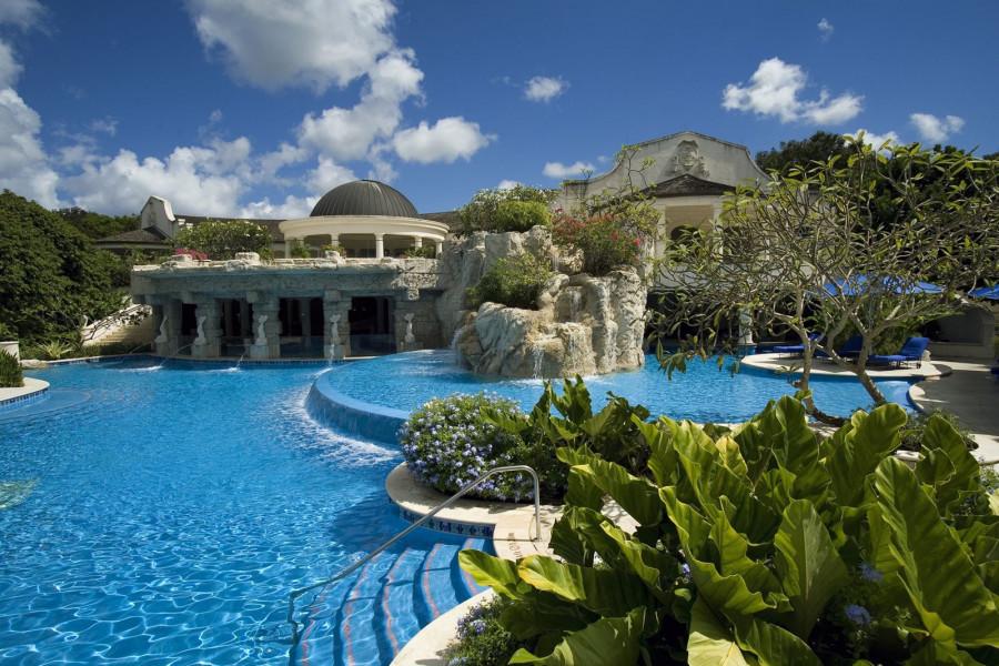 Sandy Lane. Барбадос. Курорт.