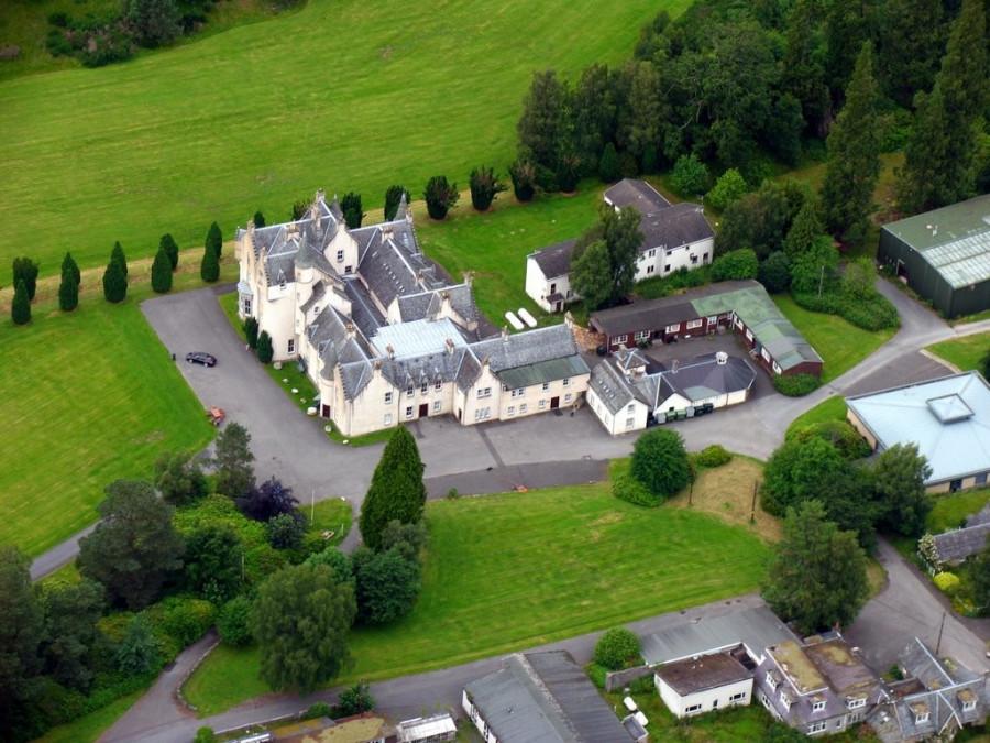 Dall House. Шотландия.