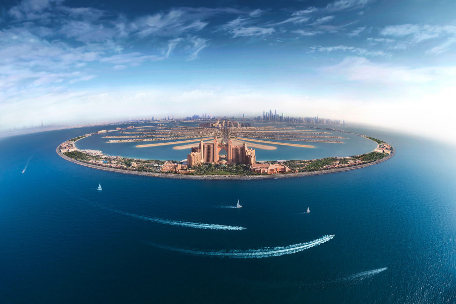 Atlantis The Palm. ОАЭ.