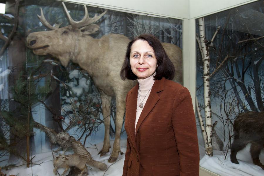 Наталья Вакалова, директор краеведческого музея.