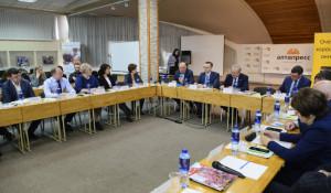 На круглом столе, посвященном вопросам строительного рынка в 2021 году.