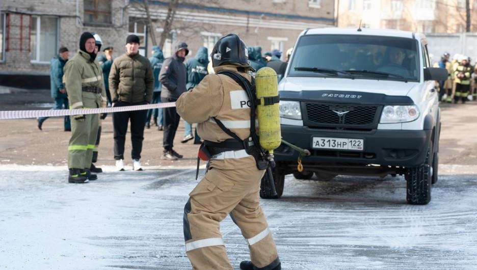 Пожарно-спасательный кроссфит.