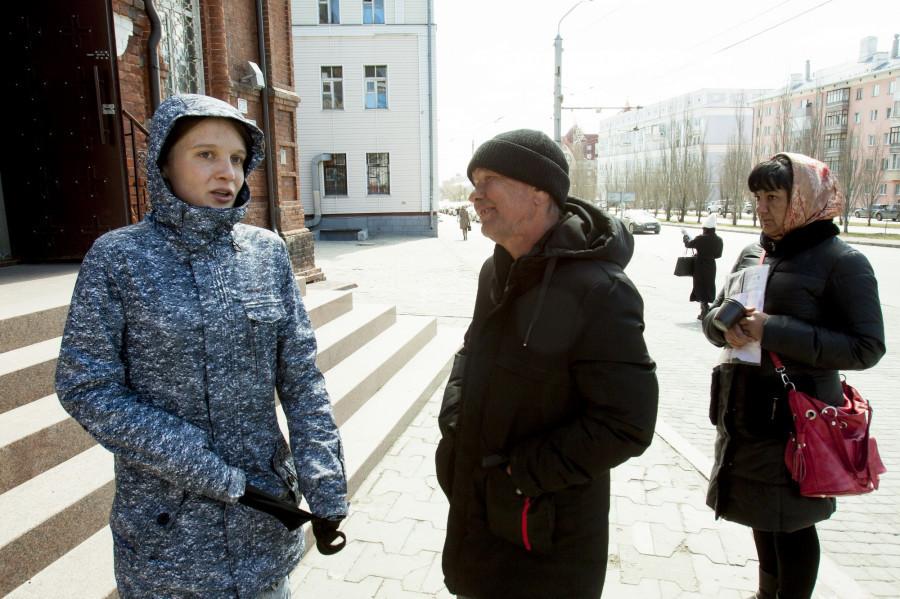 Барнаул. Бездомный Сергей.