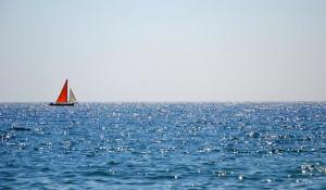 Черное море летом.