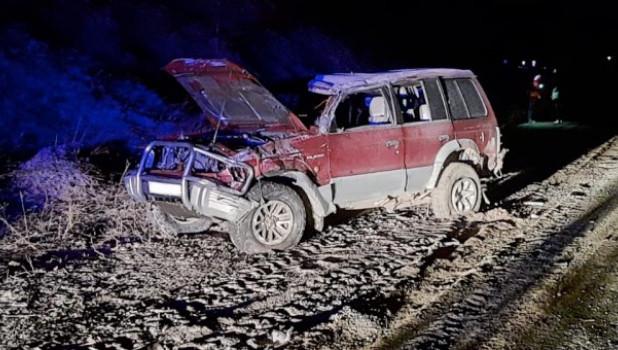 В селе Кызыл-Озеке произошло ДТП. Пострадал молодой мужчина.