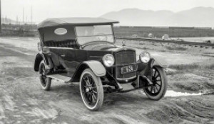 Автомобиль. Начало XX века.