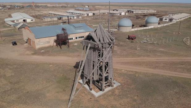Ветряная мельница 19 века.