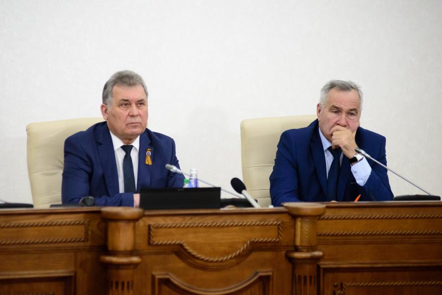 Александр Романенко и Сергей Серов.
