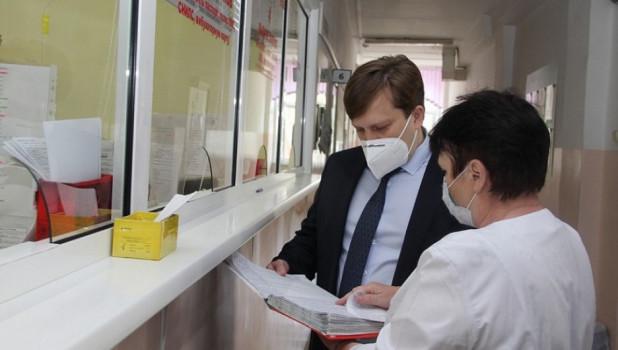 Дмитрий Попов, министр здравоохранения Алтайского края.