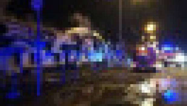 На Алтае сгорели торговые киоски.